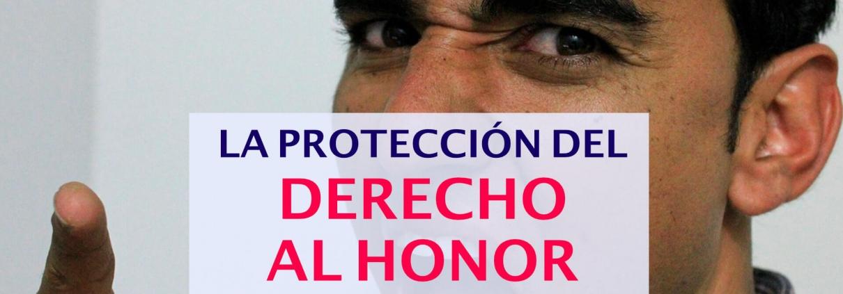 el derecho al honor