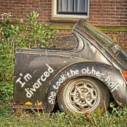 divorcio y coche