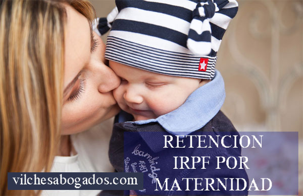 devolucion IRPF por maternidad
