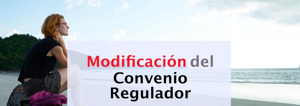 modificacion del convenio regulador
